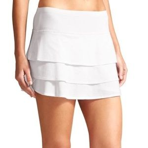 Althea Girl White Tennis Skort (kids m/8-10)
